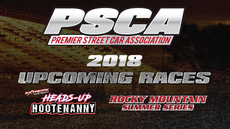 2018 Race Dates