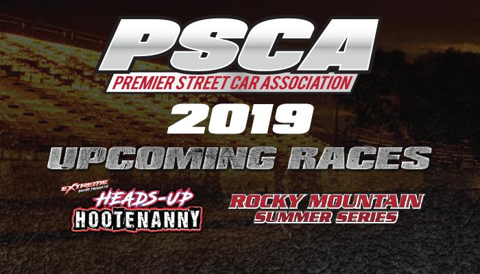 2019 Race Dates